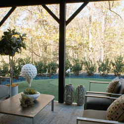 """The back of the home designed by Alison Victoria and Mike Holmes for the second season of """"Rock the Block."""""""