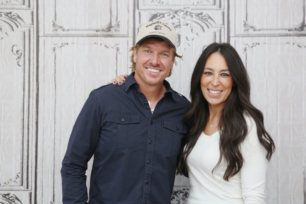 Chip and Joanna Gaines at the AOL headquarters in 2016