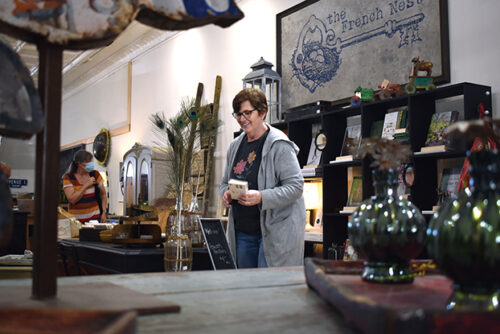 At home again, Alexander-Persse opens The French Nest in downtown Salisbury - Salisbury Post