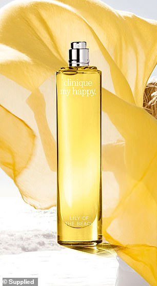 The scent of Lily on the Beach is described as 'bottled sunshine' as it contains key notes of Ylang Ylang