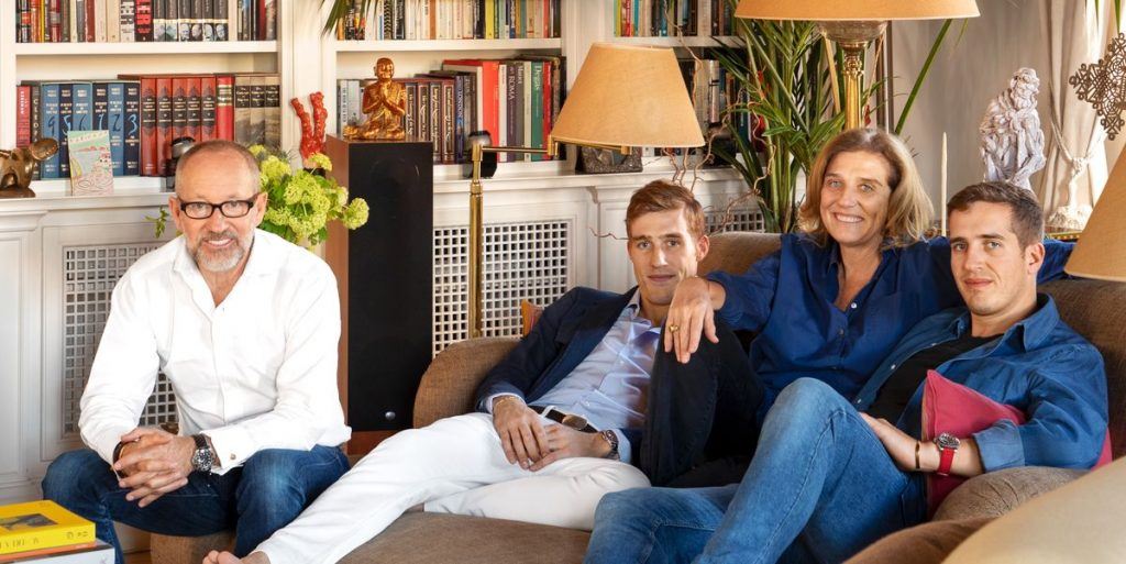 How Le Sirenuse's Owners the Sersales Entertain at Home