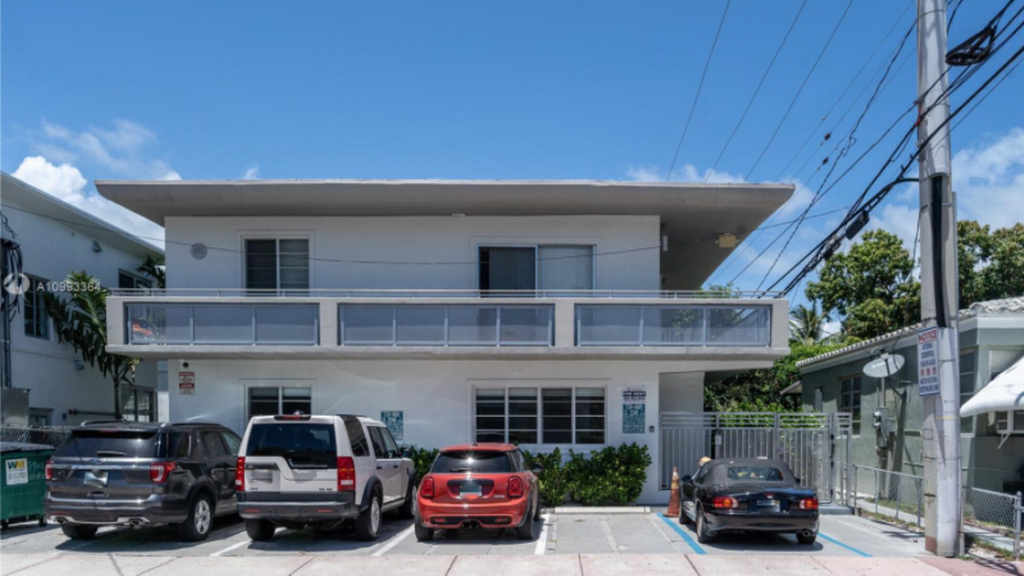 In April, Sentinel Real Estate acquired 30 buildings in Bay Harbor Islands and South Beach, including this one at 1135 Eighth St.