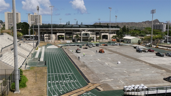 Renovations begin for T.C. Ching Athletics Complex - Honolulu, Hawaii news, sports & weather